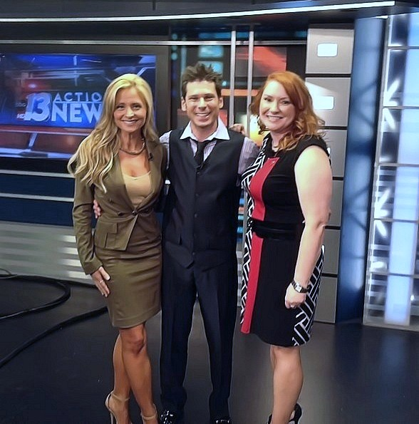 Mike Hammer Appears On Channel 13 Action News Mike Hammer Vegas