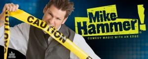 Logo Design/Brand Identity  Mike Hammer Comedy Magic Show - Las Vegas